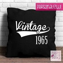 Poduszka Vintage [rok]  Vin...