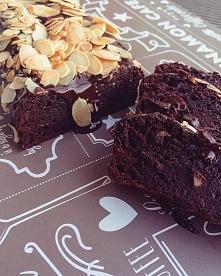 Fasolowe brownie <3 przysięgam, że nie czuć grama fasoli a jedynie cudowną...