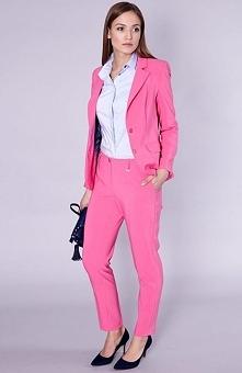 Click Fashion Kolin spodnie Rewelacyjne różowe spodnie, z wąskimi nogawkami, ...