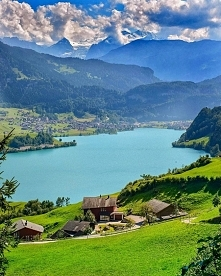 Szwajcaria, jezioro Lungern