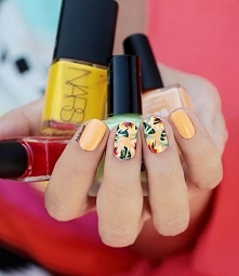 Paznokcie wzory na lato >> galeria zdjęć paznokci
