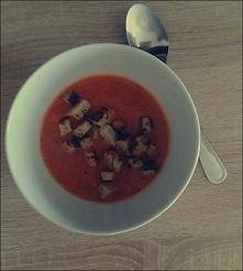 Krem z pomidorów  Bardzo zd...