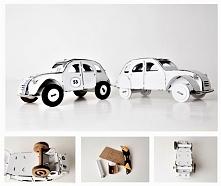 Samochód z tektury DIY! Lin...