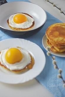 Jajka sadzone na słodko