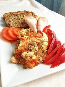 śniadanie - 2 jaja wiejskie...