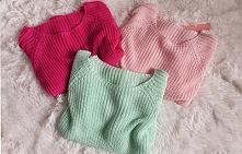 Kolorowe sweterki ! Tylko u...