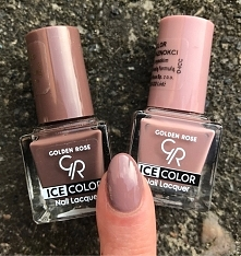 świetny zestaw! GOLDEN ROSE ICE COLOR #164 i #120 ❤ fb @najnail