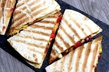 Pikantna  quesadilla z chorizo