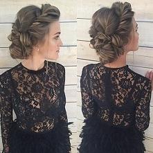 Śliczne UPIĘCIA WŁOSÓW >> modne fryzury