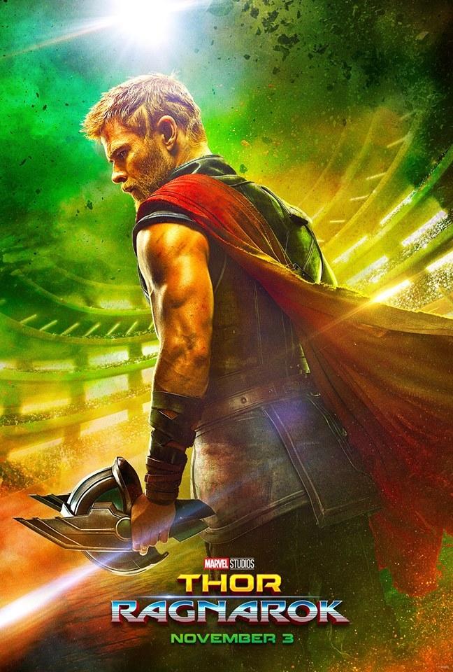 Plakat Thor: Ragnarok