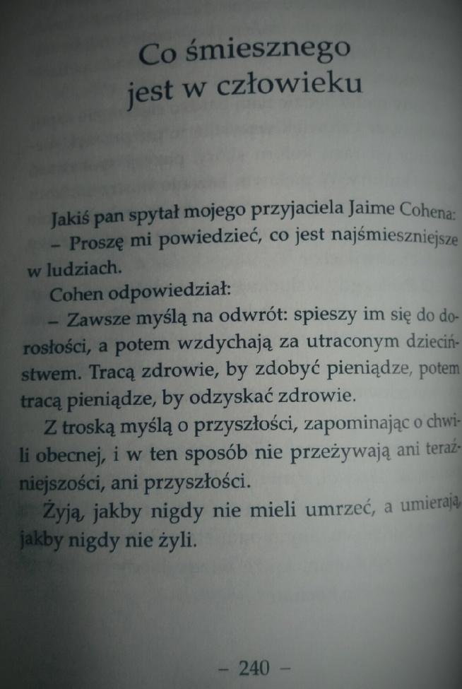Paulo Coelho Być Jak Płynąca Rzeka Na Cytaty Wiersze I