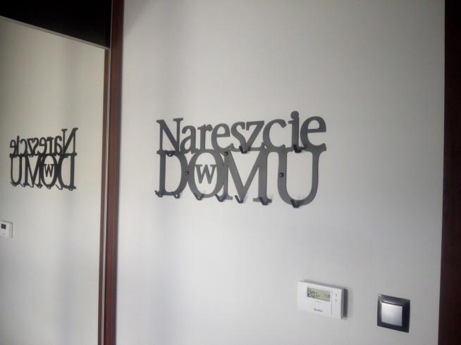 Nareszcie w domu XXL - wieszak na ubrania - art-steel.pl