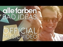Alle Farben - Bad Ideas [OFFICIAL VIDEO]