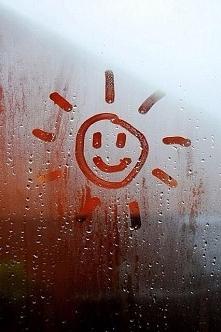 Burza, deszcz.. Nieważne. Przede wszystkim pogoda ducha.
