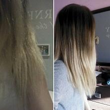 miesiąc czasu z siemieniem lnianym i włosy są o wiele lepsze. niestety odbudo...