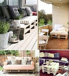 Niezwykłe meble i dodatki z palet - meble ogrodowe