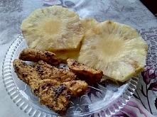 Obiadek (3 krążki ananasa z...