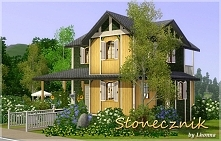 To jest domek, który tworzyłam 5 godzin. Domek może być wykorzystany zarówno do the sims 3 jak i do the sims 4.