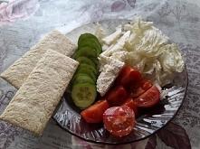 Warzywka na śniadanko :3 Mmm