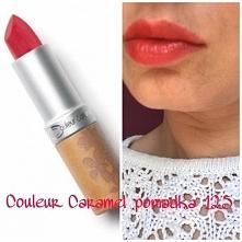 Couleur Caramel piękna matowa pomadka na pięknych ustach :)