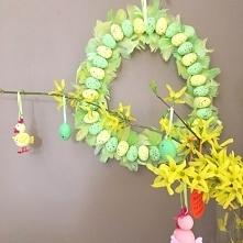 Wielkanocny wianek DIY - kr...
