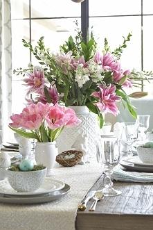 dekoracja stołu na święta
