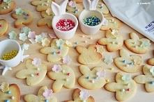 Wiosenne ciasteczka królicz...