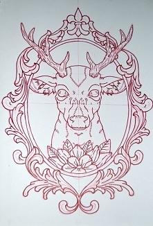 szkic tattoo