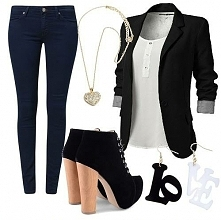 sportowa elegancja black&white