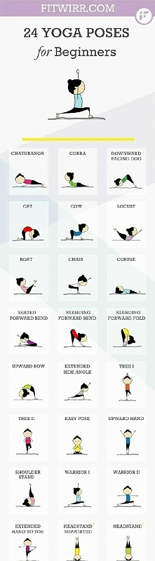 Joga- pozycje dla początkujących