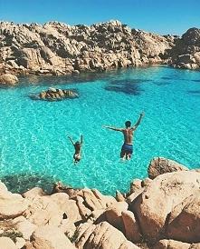 Wyspa Caprera we Włoszech.