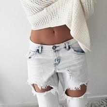 Sweterek + dżinsy ♥