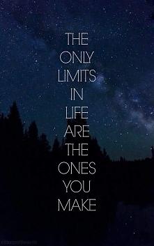 To ty wyznaczasz granice.