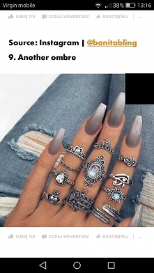 Widział ktoś takie pierścionki? Bardzo mi się spodobały a nie mogę ich znaleźć :(