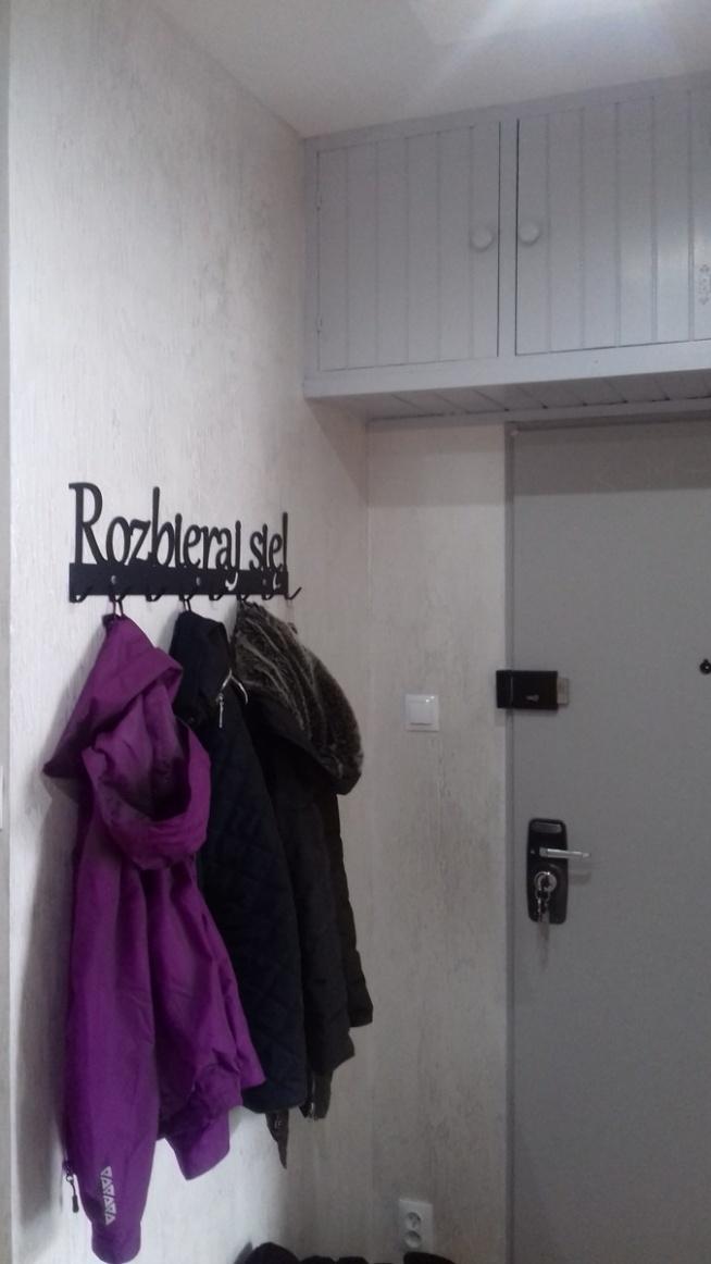 Rozbieraj się XXL - wieszak na ubrania - art-steel.pl