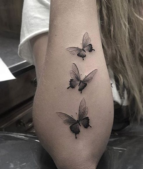 Motyle Tatuaże Na Tatuaże Zszywkapl
