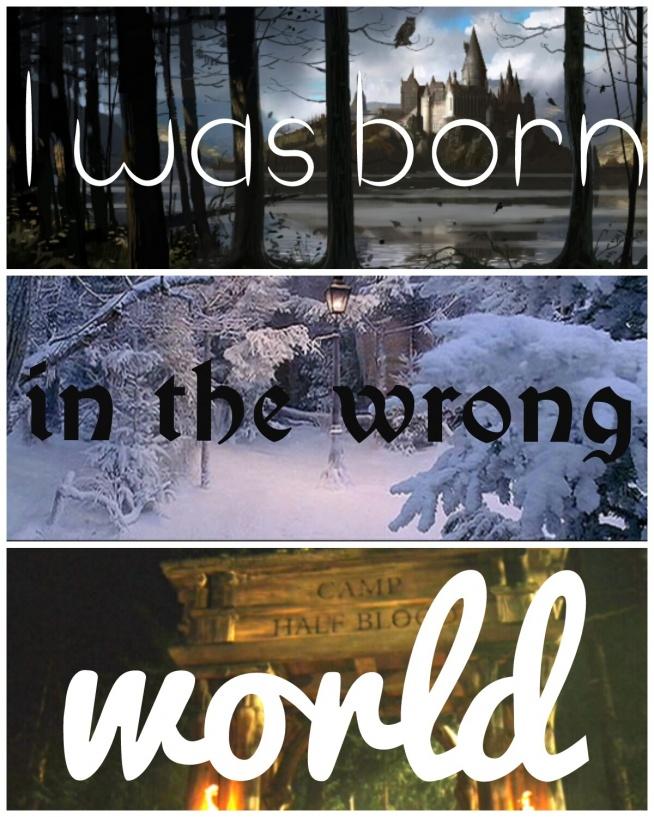 urodziłam się w niewłaściwym świecie