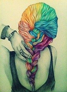 a takie włosy