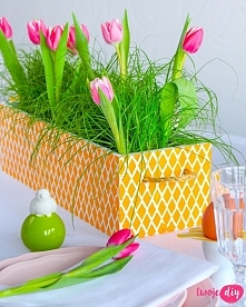 Wiosenna skrzyneczka DIY, S...