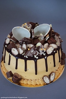 Kajmakowy kinder cake