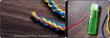 Pleciony sznurek krok po kroku Diy
