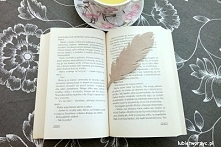 Śliczna zakładka do książek...