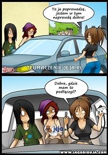 Prowadzenie auta...