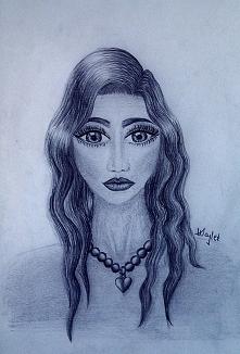 #WajletArt Tritanna... tak ją nazwałam :) Elfią urodę ma po ojcu, elfie :>...