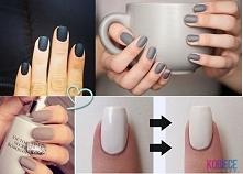 Domowy sposób na matowe paznokcie ^^ Do lakieru dodać odrobinę... Domowy sposób na matowe paznokcie ^^ Do lakieru dodać odrobinę skrobi ziemniaczanej, lub budyń śmietankowy, dok...