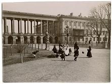 Pałac i Ogród Saski - Warszawa, ok. 1895.