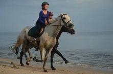 Plaża, wyścigi, pełna moc, piękna pogoda, czego chcieć więcej :)