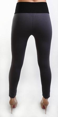 Bardzo wygodne legginsy z pasem maskującym niedoskonałości figury. Każda kobi...