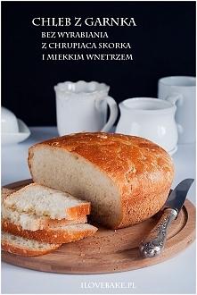 Chleb z garnka (bez wyrabiania)