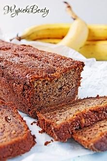 Ciasto bananowe wilgotne